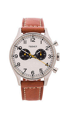 Tsovet SVT-DE40 in Stainless & Tan
