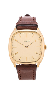 Tsovet JPT-TW35 in Gold & Dark Brown