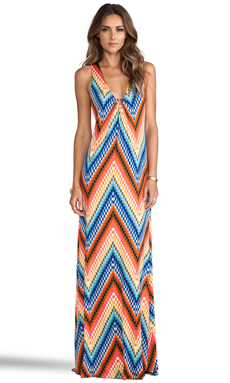 Trina Turk Verbana Dress in Multi