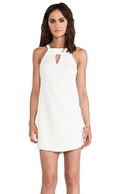 Trina Turk Parson Dress in Whitewash