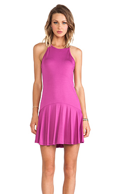 Trina Turk Glenna Dress in Bright Plum
