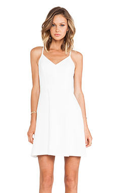 Trina Turk Abelina Dress in Whitewash