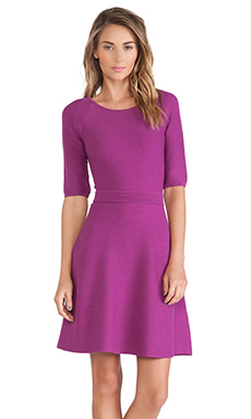 Trina Turk Cadence Dress in Dark Orchid