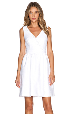 Trina Turk Alessia Dress in White