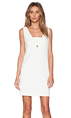 Trina Turk Gita Dress in Whitewash