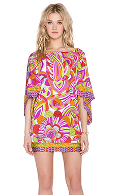 Trina Turk Amazonia Tunic in Berry