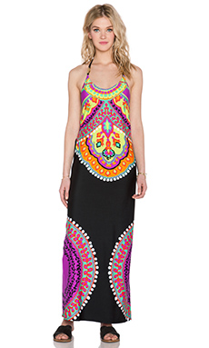 Trina Turk Nuevo Sol Maxi Dress in Multi