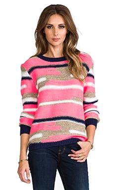 Trina Turk Disah Merina/Nylon Sweater in Multi