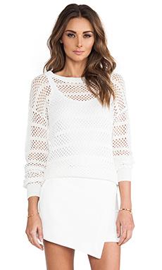 Trina Turk Auburn Sweater in Whitewash