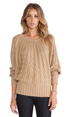 Trina Turk Tyson Sweater in Camel