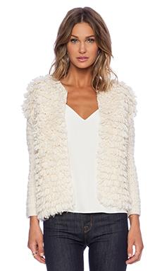 Trina Turk Shaggy Sweater in Ecru