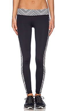 Trina Turk Zig Zag Legging in Black