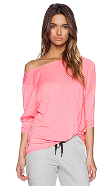 Trina Turk Twist Front Dolman in Grapefruit