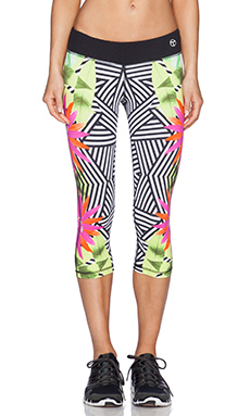 Trina Turk Tropicana Mid Length Legging in Multi