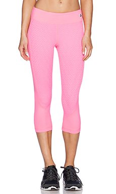 Trina Turk Mid Length Legging in Grapefruit