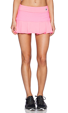 Trina Turk Tennis Skirt in Grapefruit