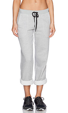 Trina Turk Sweatpant in Heather Grey