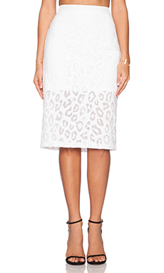 Trina Turk Bretta Maxi Skirt in Whitewash