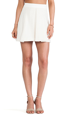 Trina Turk Julienne Skirt in Whitewash