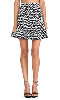 Trina Turk Chalice Skirt in Black