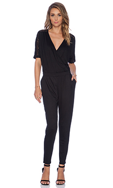 Trina Turk Gia Jumpsuit in Black