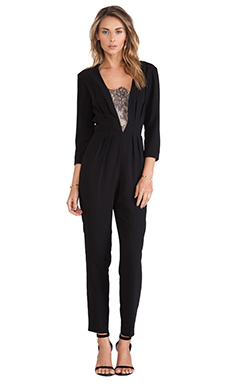 Trina Turk Alaine Jumpsuit in Black