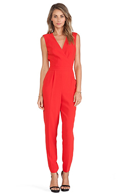 Trina Turk Lindsay Jumpsuit in Red