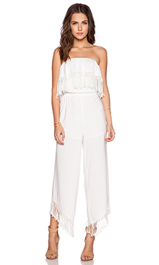Trina Turk Arista Jumpsuit in White
