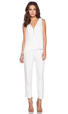 Trina Turk Banning Jumpsuit in White