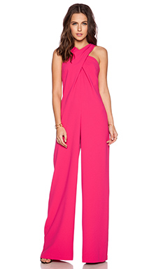 Trina Turk Halyn Jumpsuit in Vivid Pink