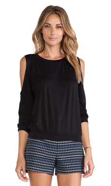 Trina Turk Arielle Top in Black