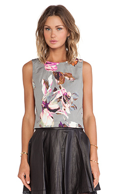 Trina Turk Mara Crop Top in Multi