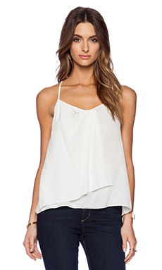 Trina Turk Nancey Top in Whitewash