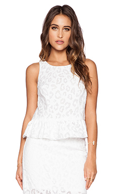 Trina Turk Carlisa Top in Whitewash