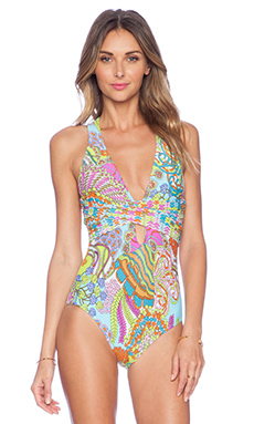 Trina Turk Coral Reef One Piece Swimsuit in Multi