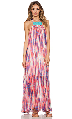 Tt Beach Tiffany Maxi Dress in Digital Print