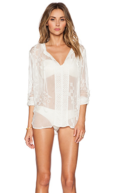 Tt Beach Owens Tunic in Shell