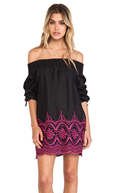 Tularosa Clover Dress in Black