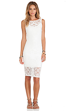 Tularosa Alba Dress in White