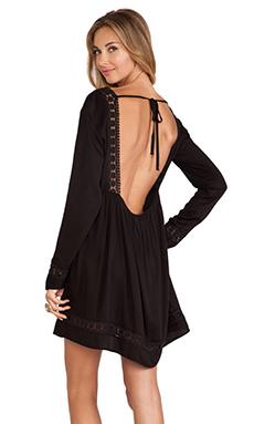 Tularosa Dasha Dress in Black