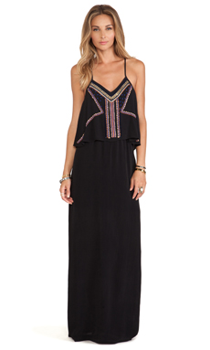 Tularosa Josephine Maxi Dress in Black