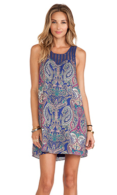 Tularosa Plumeria Dress in Paisley Repeat