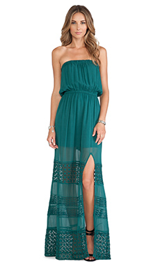 Tularosa Dawn Dress in Storm Green