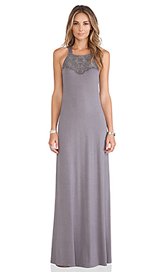 Tularosa Sophie Maxi Dress in Rabbit Grey