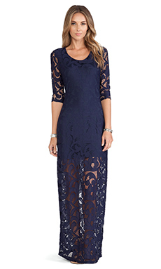 Tularosa Sway Dress in Navy