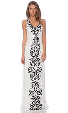 Tularosa Orphelia Applique Maxi Dress in Ivory