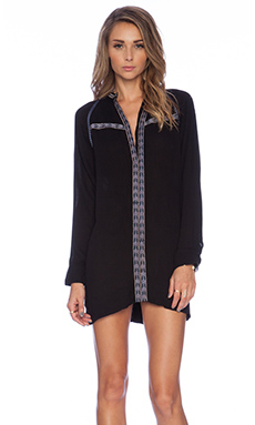Tularosa Wyatt Dress in Black