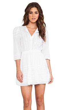 Tularosa Payton Dress in White