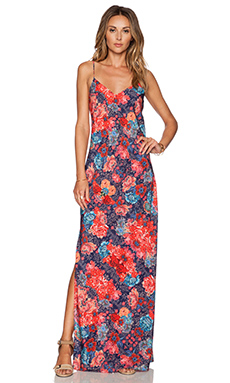 Tularosa Dayton Slip Dress in Bombay Floral