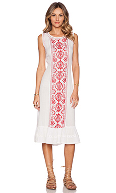 Tularosa Kirsten Dress in White